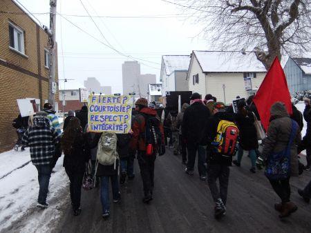 Gatineau : La journée internationale contre la brutalité policière