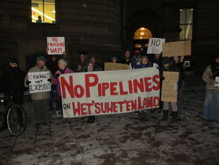 No Pipelines_Ottawa Photo: Andy Crosby